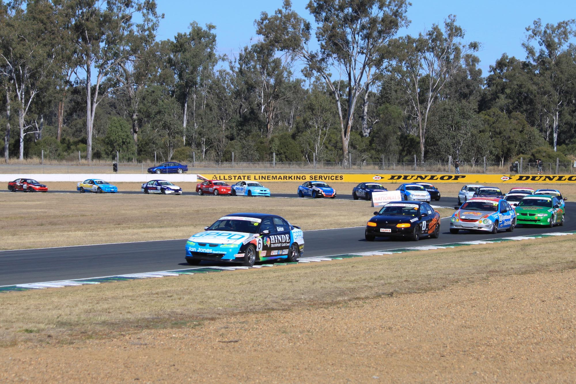 QLD Saloon Cars at the Shannons Nationals